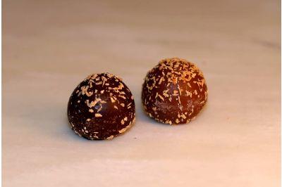 Dark Chocolate Coconut Truffles Box 24pc
