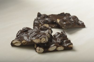 Sugar Free Dark Chocolate Almond Bark