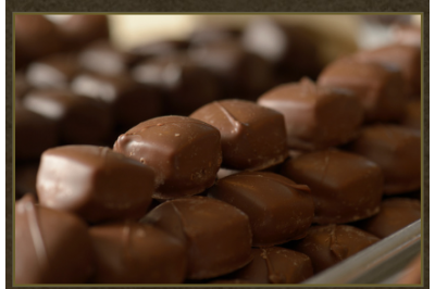 Mixed Milk and Dark Chocolate Covered Caramels 24pc