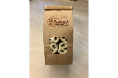 White Chocolate Mini Pretzel Bag  1/2 Lb